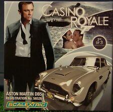 Scalextric C3162AT   James Bond    Casino Royale    Aston Martin DB5  NIB