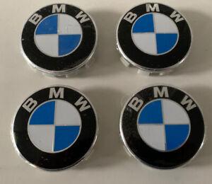 4 X 68mm BMW Wheel Rim Centre Emblem Logo Hub Badge Caps