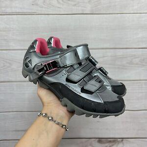 Bontrager Evoke DLX MTB Bike Shoes 7.5 Gun Metal Women's Cycling Mountain