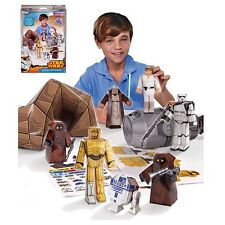 NEW DISNEY STAR WARS Blueprints Paper Craft Droids on Tatooine Desert Pack 3D