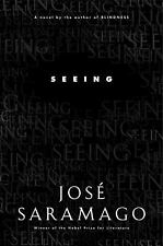 SEEING by José Saramago a Hardcover book FREE SHIPPING jose Nobel winner!!