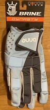 Brine Dynasty Mesh Women'S Lacrosse Gloves-Size Large-Sky Blue- New