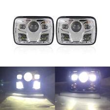 7x6 5x7Inch 60W Hi/Lo Seal Beam Cree Led Headlight Kits For Jeep XJ YJ Truck DOT