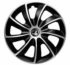 """16"""" Radkappen für Opel Astra-schwarz/silber"""