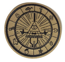 "Gravity Falls Mysteries BILL CIPHER WHEEL  3"" Logo Patch - FREE S&H (GFPA-01)"
