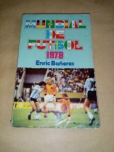 Libro sobre el mundial de Argentina 1978