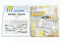 HO Scale Walthers Kit 932-96 PRR Pennsylvania 6-Unit Work Train Set #2 - Sealed