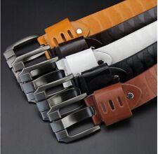 Men formal Leather Belt Pin Buckle belt Mens Business Belt Jeans Belts USA3