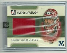 ITG Superlative Vault Patrick Roy (Montreal Canadiens) Jersey Card 1 of 1