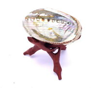 Abalone Shell and Tripod Stand Incense Holder Kit