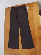 IZ Byer California Juniors Women Career slacks pants Sz 9 Charcoal Tweed NWT