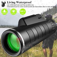 40x60 Zoom HD Monocular Starscope Day Night Vision BAK4 Optics Waterproof
