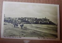 Postcard  Israel view of Jaffa from the sea shore   unposted