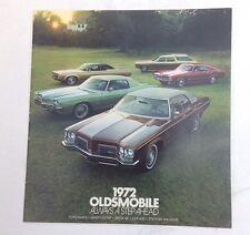 Oldsmobile 1972 Sales Broucher