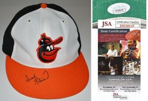 Frank Robinson Signed Baltimore Orioles Baseball Cap New Era Fitted Hat JSA COA