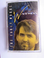 WAYNE WATSON - THE EARLY WORK'S - USA CASSETTE TAPE, 1991 BENSON.
