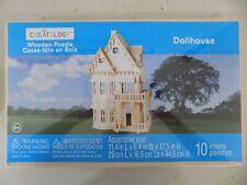 Creatology Wooden 3D Puzzle Dollhouse