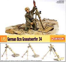 q Dragon - German 8cm Granatwerfer 34  (Scala 1/6) - Da assemblare e dipingere