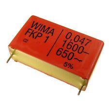 Wima fkp1 polipropileno diapositivas-condensador FKP 1 1600v 0,047uf 5% 37,5mm 024085