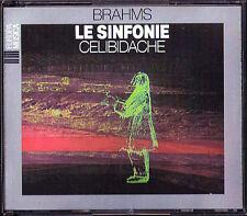 Sergiu CELIBIDACHE: BRAHMS Symphony No.1 2 3 4 Milan Live 1959 3CD Sinfonien