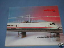 Marklin Katalog Catalog 1985/86 NL