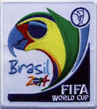 FIFA BRASIL 2014 World Cup Logo maccaw parrot 3.5 INCH SOCCER PATCH