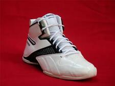 Men Black & White Reebok Athletic Solid Synthetic Sneakers Size 11.5-M