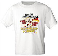 (08116) Baby �™� Kinder T-Shirt - für Deutschland schreien - Gr. 86 - 164