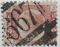 SG48. 1/2d.Rose-Red Pl.8. Good/FU With 667 Cancel of Rye. Cat.£120. Ref:044