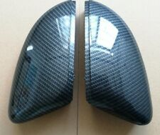 VW Golf MK6 Wing Mirror Covers Carbon Fibre Look Case Shell Replacement GTI GTD