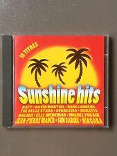 Cd compilation Sunshine hits - 15 titres - 1996
