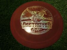 new Destroyer Star 169 blood red Raptor Ricky distance driver Innova disc golf