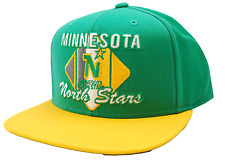 MINNESOTA NORTH STARS  CCM VG85Z RETRO SNAPBACK NHL ADJUSTABLE HOCKEY CAP HAT