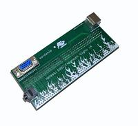 Neu Neustes V4 Hefesto Amiga CD32 Riser Adapter VGA Ps/2 Audio Jack 3.5mm #759