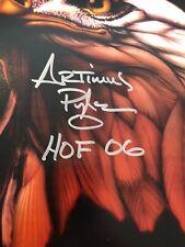 Autographed Artimus Pyle 11x17 Lynyrd Skynyrd poster insc HOF 06 SSG certified