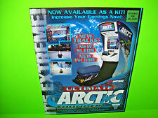 Midway ULTIMATE ARTIC THUNDER 2000 Original Video Arcade Game Promo Sales Flyer
