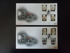ROYAL MAIL FIRST DAY COVER - TALES OF TERROR 1997 (GUTTER PAIRS) RARE.