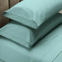 Ddecor Home 1000 Thread count Cotton Blend Sheet sets Seafoam