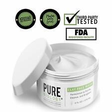 Premium Face Mask Acne Bentonite Clay Retinol Collagen Peptides Kaolin Vitamins