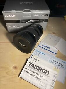Tamron SP 15-30mm f/2.8 Di VC USD G2 Lens for Canon EF Mount