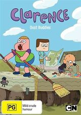 Clarence Dust Buddies NEW SEALED R4 DVD Cartoon Network