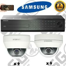 Supply & Fit SAMSUNG 16 Channel CCTV sistema di sicurezza 1x 16ch DVR + TELECAMERE 8x