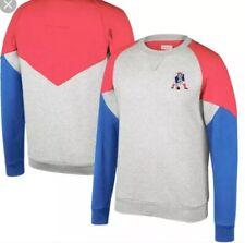 New England Patriots Mitchell & Ness Trading Block Crew Sweatshirt XXL