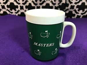 Vintage Masters Augusta National Green White Thermo-Serv Mug