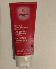 Weleda Wild Rose Creamy Body Wash, 6.8 fl oz (200 ml) Certified natural