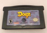 Nintendo Gameboy Advance GBA Game Boy Dogz Ubisoft