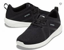 Crocs Men's LiteRide Modform Lace Up Sneakers Shoes Black Size 7