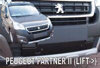 PG Partner / Citroen Berlingo II 2015 -  Front grill winter cover HEKO 04065