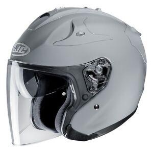 Casco Helm Casque Helmet HJC FG-JET NARDO GREY METAL 2019 taglia M