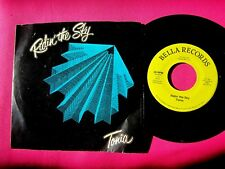 TONIA  Ridin' the Sky  45 rpm with Picture Sleeve  modern soul 45 rpm BELLA 0004